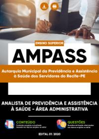 Analista de Previdência e Assistência à Saúde - Área Administrativa - AMPASS