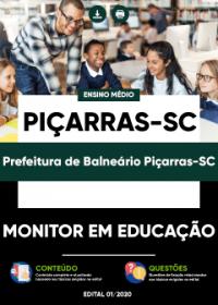 Monitor em Educação - Prefeitura de Balneário Piçarras-SC