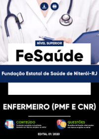 Enfermeiro (PMF e CnR) - FeSaúde