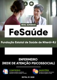 Enfermeiro (Rede de Atenção Psicossocial) - FeSaúde
