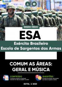 CFGS - Comum as Áreas: Geral e Música - ESA