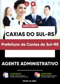 Agente Administrativo - Pref. de Caxias do Sul-RS