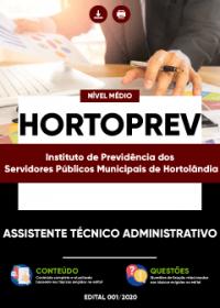 Assistente Técnico Administrativo - HORTOPREV