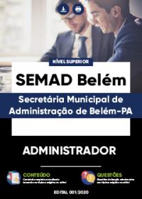 Administrador - SEMAD Belém