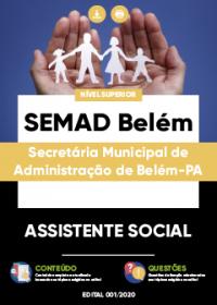 Assistente Social - SEMAD Belém