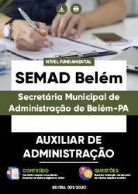 Auxiliar de Administração - SEMAD Belém