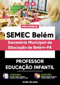 Professor - Educação Infantil - SEMEC Belém