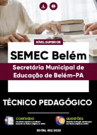 Técnico Pedagógico - SEMEC Belém
