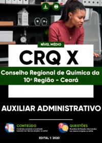 Auxiliar Administrativo - CRQ X