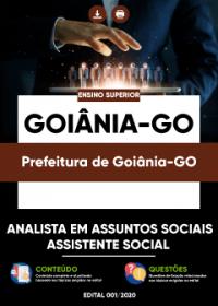 Analista em Assuntos Sociais - Assistente Social - Prefeitura de Goiânia-GO