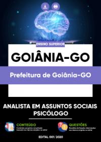 Analista em Assuntos Sociais - Psicólogo - Prefeitura de Goiânia-GO