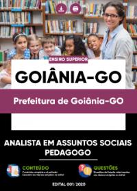 Analista em Assuntos Sociais - Pedagogo - Prefeitura de Goiânia-GO