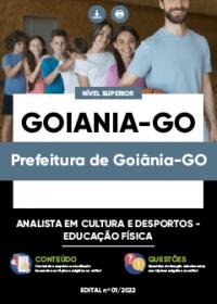 Analista em Cultura e Desportos - Educação Física - Prefeitura de Goiânia-GO