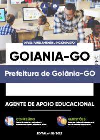 Agente Apoio Adm. e Educacional e Serv. Operacionais - Prefeitura de Goiânia-GO