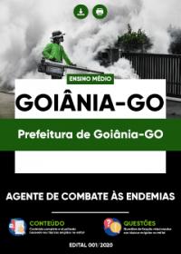 Agente de Combate às Endemias - Prefeitura de Goiânia-GO