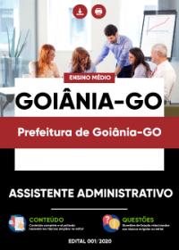 Assistente Administrativo - Prefeitura de Goiânia-GO