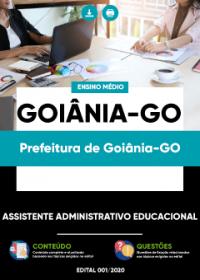 Assistente Administrativo Educacional - Prefeitura de Goiânia-GO