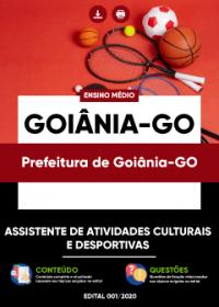 Assistente de Atividades Culturais e Desportivas - Prefeitura de Goiânia-GO