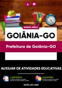 Auxiliar de Atividades Educativas - Prefeitura de Goiânia-GO