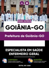 Especialista em Saúde - Enfermeiro Geral - Prefeitura de Goiânia-GO