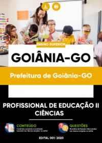 Profissional de Educação II - Ciências - Prefeitura de Goiânia-GO