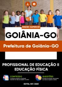Profissional de Educação II - Educação Física - Prefeitura de Goiânia-GO