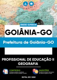 Profissional de Educação II - Geografia - Prefeitura de Goiânia-GO