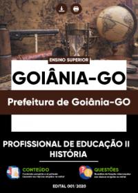 Profissional de Educação II - História - Prefeitura de Goiânia-GO