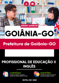 Profissional de Educação II - Inglês - Prefeitura de Goiânia-GO