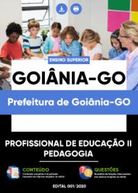 Profissional de Educação II - Pedagogia - Prefeitura de Goiânia-GO