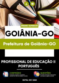 Profissional de Educação II - Português - Prefeitura de Goiânia-GO