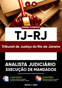 Analista Judiciário - Especialidade: Execução de Mandados - TJ-RJ