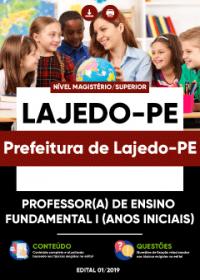Professor(a) de Ensino Fundamental I (Anos Iniciais) - Prefeitura de Lajedo-PE