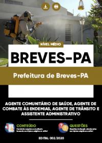 Agente Comunitário de Saúde e outros - Prefeitura de Breves-PA