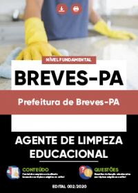 Agente de Limpeza Educacional - Prefeitura de Breves-PA