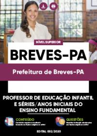 Professor de Educação Infantil e Séries-Anos Iniciais - Prefeitura de Breves-PA