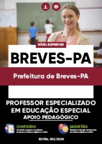 Professor Especializado em Educação Especial - Prefeitura de Breves-PA