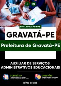 Auxiliar de Serviços Administrativos Educacionais - Prefeitura de Gravatá-PE