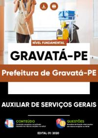 Auxiliar de Serviços Gerais - Prefeitura de Gravatá-PE