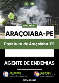 Agente de Endemias - Prefeitura de Araçoiaba-PE