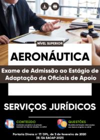 Serviços Jurídicos - Aeronáutica (Exame de Admissão ao Estágio de Adaptação)
