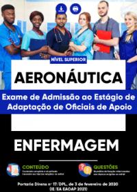 Enfermagem - Aeronáutica (Exame de Admissão ao Estágio de Adaptação)