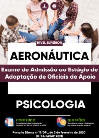 Psicologia - Aeronáutica (Exame de Admissão ao Estágio de Adaptação)