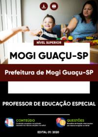 Professor de Educação Especial - Prefeitura de Mogi Guaçu-SP