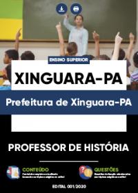 Professor de História - Prefeitura de Xinguara-PA