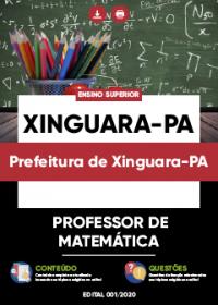 Professor de Matemática - Prefeitura de Xinguara-PA