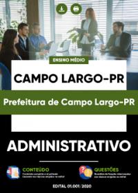 Administrativo - Prefeitura de Campo Largo-PR