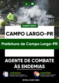 Agente de Combate às Endemias - Prefeitura de Campo Largo-PR