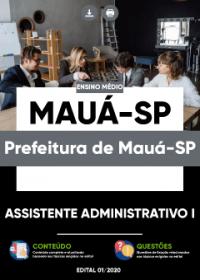 Assistente Administrativo I - Prefeitura de Mauá-SP