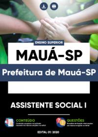 Assistente Social I - Prefeitura de Mauá-SP